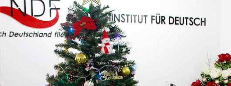 Giáng sinh 2017 tại Trung tâm Tiếng Đức NDF