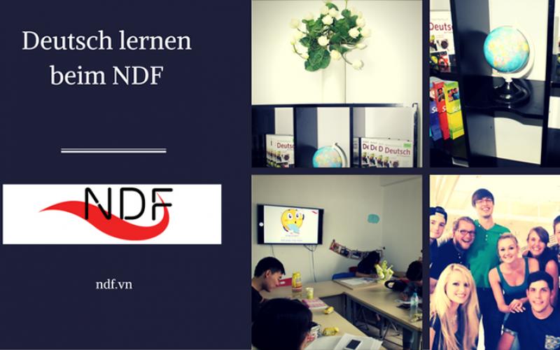 NDF- Một địa điểm tin cậy học tiếng Đức ở Hà Nội