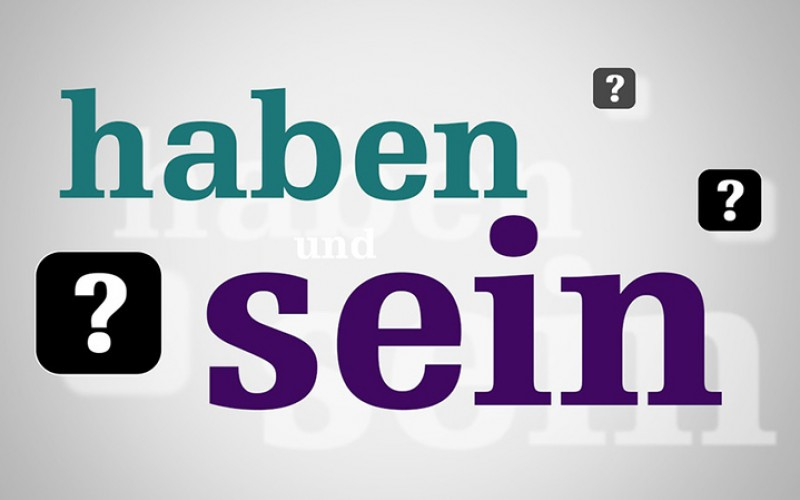 Học ngữ pháp tiếng Đức: Haben và Sein
