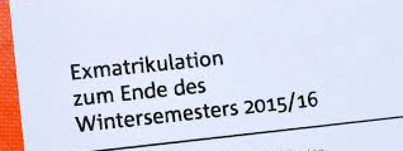 Vấn đề thôi học ở trường với sinh viên tại Đức