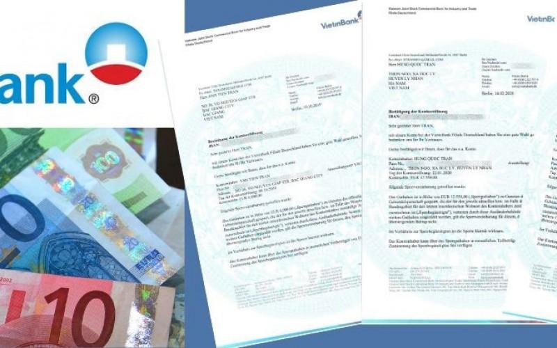 Tất tần tật xung quanh chứng minh tài chính du học nghề Đức